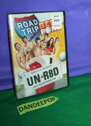 Road Trip Beer Pong Dvd 2009 Unrated Edition Canadian Road Trip Beer Pong Trip