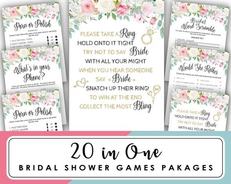 would she rather game pink peonies floral bridal shower game what would bride do