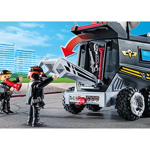 Playmobil 9360 Sek Truck Mit Licht Und Sound