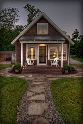 60 Cute Cottage Design Ideas To Beautify Your Home Garden Ara Home Cottage C Small Cottage Homes Tiny House Plans Small Cottages Small Cottage House Plans