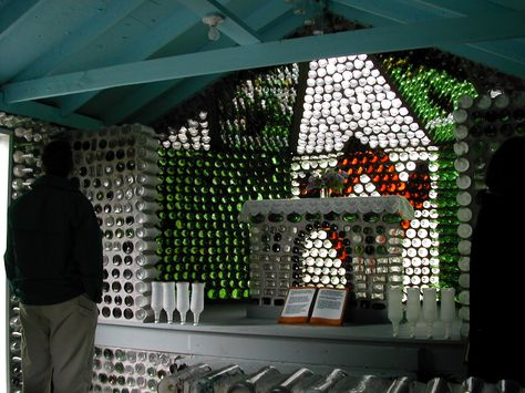 Bottle Houses are truly awesome, but a Bottle Church is to long for services to begin :D