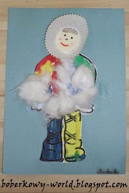 Eskimos- praca plastyczna | Dzieci, Przedszkole, Świat