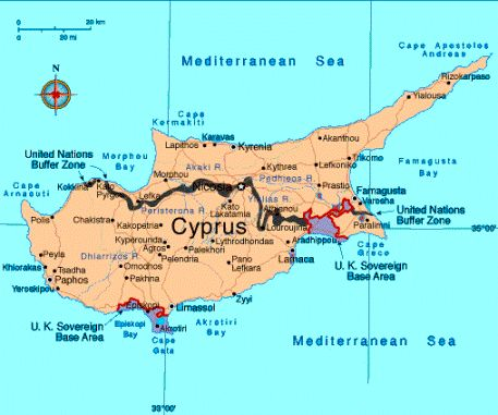 Famagusta Cyprus Map Then 1572 and Now2015 Maps Pinterest
