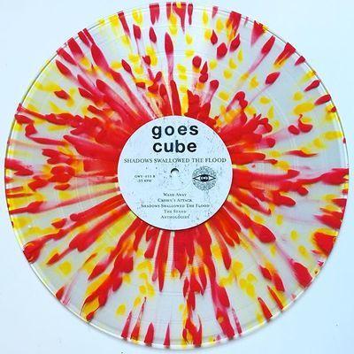 Goes Cube Shadows Swallowed The Flood Splatter Vinyl From Green Recs Go Cubes Cube Vinyl Records