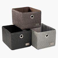 Helt nya Förvaringslåda kvadrat | Möbler som passar till Kallax GU-32