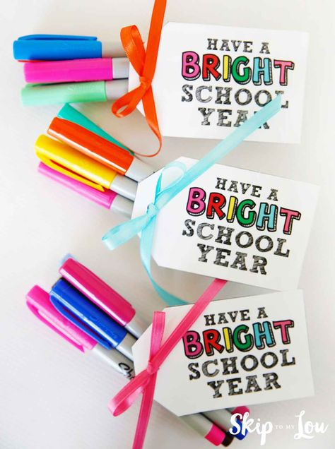 back to school gift idea for a teacher or staff.