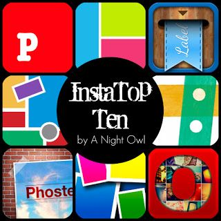 {InstaFriday} Top Ten InstaApps Instagram apps, Top ten