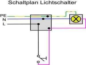 Schaltplan Lichtschalter Ausschaltung Anschliessen Lichtschalter Schaltplan Schalter