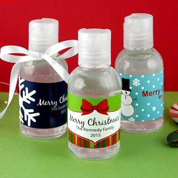Holiday Hand Sanitizer Hand Sanitizer Party Favors For Adults