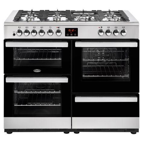 Belling Cookcentre 110dft Dual Fuel Range Cooker Range Cooker Dual Fuel Range Cookers Electric Range Cookers