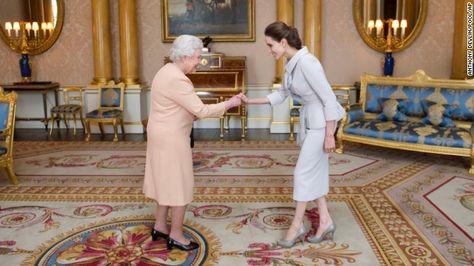 Angelina Jolie Is Named Honorary Dame By Queen Elizabeth