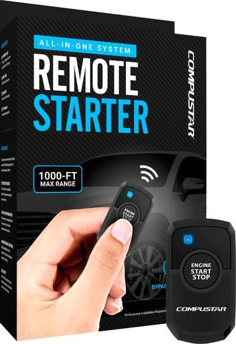 Compustar 1 Button Remote Starter T Harness Kit 2nd Gen Installation Required Black Rs1b Dc3 Best Buy Car Starter Cool Things To Buy Automatic Car Starter