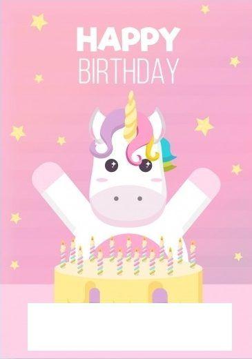 Invitaciones Para Cumpleaños Invitacion De Unicornio