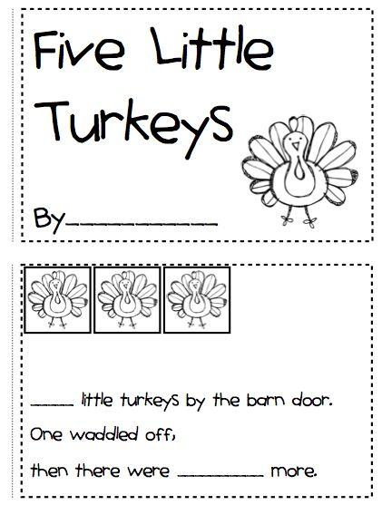Cute turkey activities