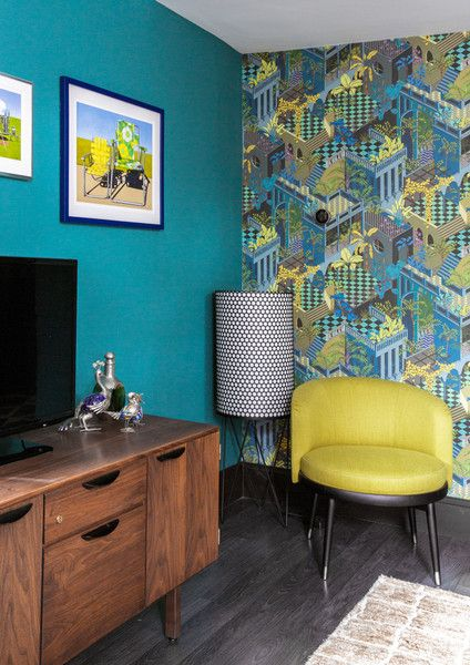 Cool Corner - A Designer's Home That Takes Wallpaper To The Next Level - Photos
