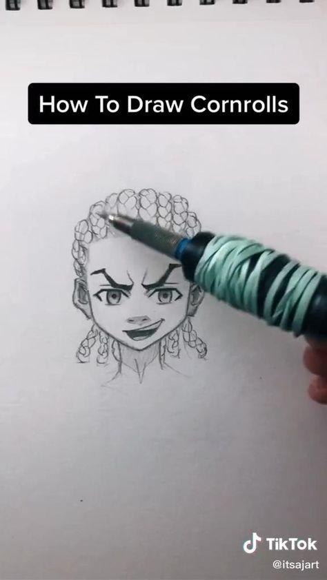 how to draw cornrows 🥺💞 #diy #funny #tiktok #tiktokmemes #tiktokboys #tiktokusa #cornrows #cornrowhairstyles #cornrowboxbraids #cornrowbraids #hair #hairstyles #drawing #draw #drawingideas #drawingtips #drawthisinyourstyle #sketch #sketchbook #sketching