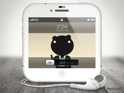Iphone Icon White