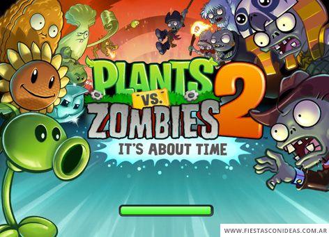 17 Ideas De Fede Cumple 5 Plantas Vs Zombies Cumpleaños Plantas Contra Zombies Plantas Contra Zombis