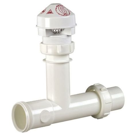 Oatey 39239 Sure Vent Air Admittance Valve Kit Air Admittance Valve Kit As Shown Under Sink Sewer Fixture Industrial