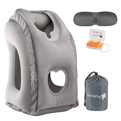 Sunany Inflatable Neck Pillow Used for