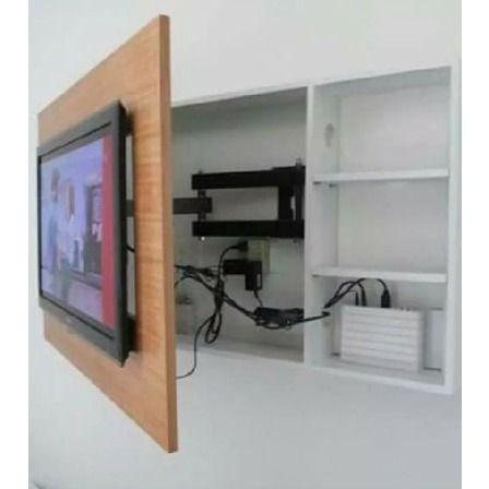Rack Tv Panel Superior Lcd Brazo Giratorio Diseño Unico 18mm - $ 5.703,00 en Mercado Libre
