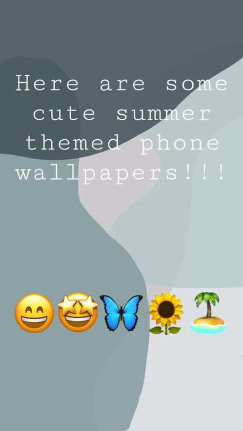 cute summer themed phone wallpapers !