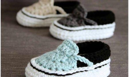 1a7456139882d Crochet Baby Booties Free Crochet Slipper Boot Pattern | Crochet ...