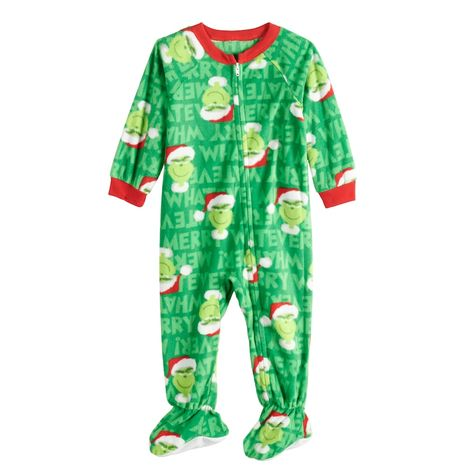 7fbf9bd09061 Dr. Seuss Baby Infant Jammies For Your Families How the Grinch Stole ...