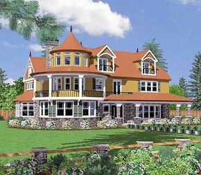 Plan 8587ms Victorian House Plans Country House Plans House Plans