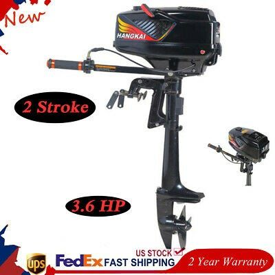 Boatsparts Hkangkai 3 6hp 2 Stroke Outboard Motor 55cc Boat Engine Water Cooling System Us Boat Engine Outboard Motors Outboard