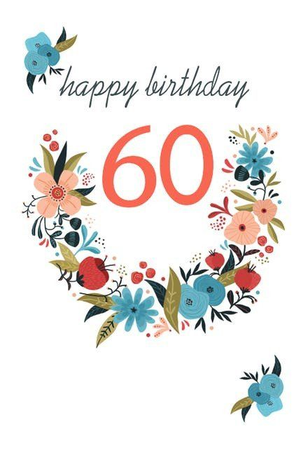 60th Birthday Cards Free Printable Awesome 60th Birthday Cards Free 60th Birthday Cards Free Printable Birthday Cards Birthday Card Printable