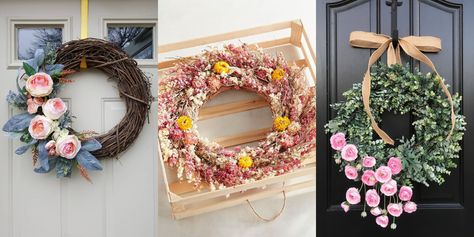 These Spring Wreaths Will Totally Refresh Your Front Door
