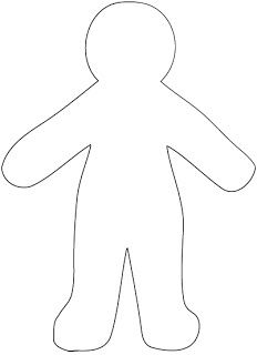 Free Paper Doll Template Paper Doll Template Dammit Doll Paper