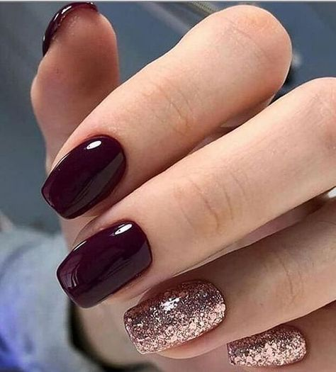 Best Winter Gel Nail Colors And Christmas Nail Ideas In 2020