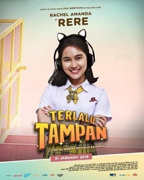 Terlalu Tampan Poster Film Webtoon Movie Posters