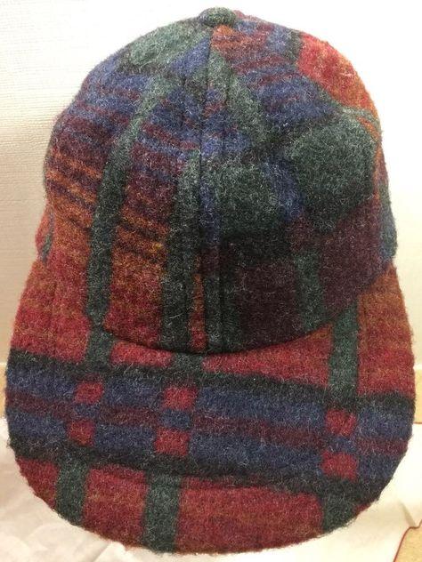baseballcap Vintage Woolrich Hat Cap Red...