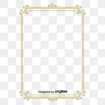 Simple Retro Line Square Border Photo Clipart Restoring Ancient Ways Square Png Transparent Clipart Image And Psd File For Free Download Vintage Borders Frame Clipart Clip Art Borders