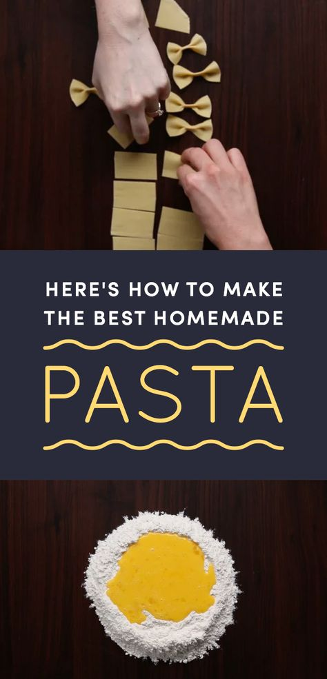 Here's How To Make Great Pasta From Scratch