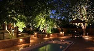 Image result for cool garden lighting ideas Pool Lighting