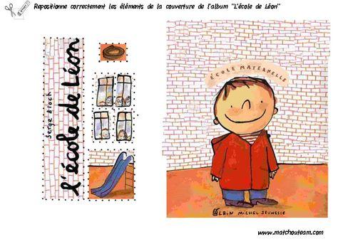 """Fiches activités autour du livre """"L'école de Léon"""""""