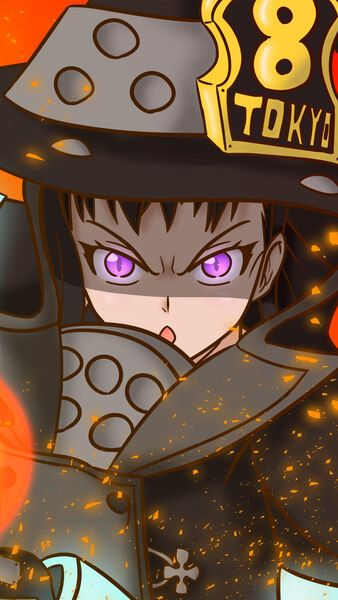 63 Best Fire Force Images In 2019 Fire Anime Art Anime