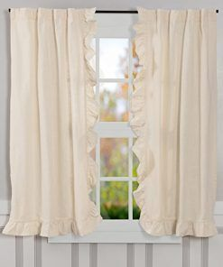 Farmhouse Drapes Rustic Drapes Country Kitchen Curtains