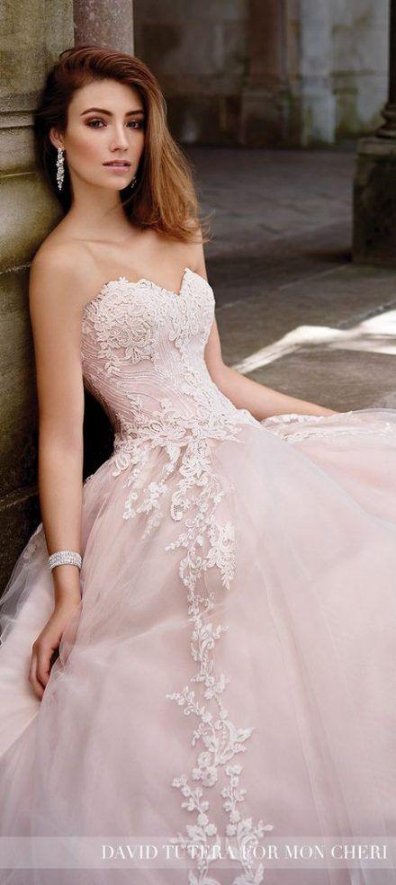37 Ideas Wedding Gown Princess David Tutera Wedding Blush Pink