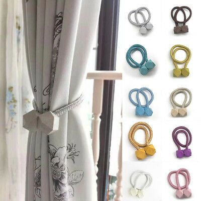Sponsored Link Multifaceted Ball Magnetic Curtain Tieback Curtain