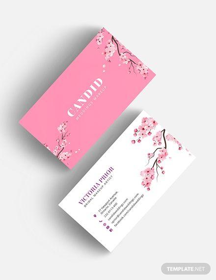 Bridal Makeup Artist Business Card Template Pdf Word Doc Psd Apple Mac Pages Illustrator Publisher Makeup Artist Business Cards Templates Makeup Artist Business Artist Business Cards
