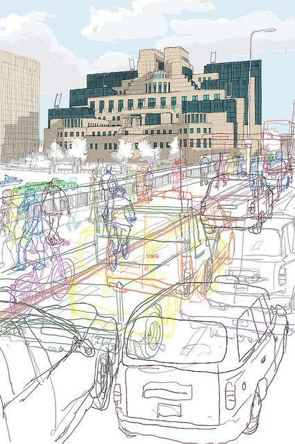 Secret London MI6 by Rupert.vanwyk, via Flickr