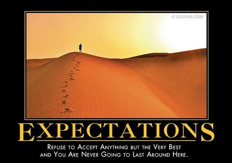 Expectations from Despair, Inc.