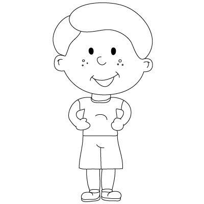 Easy Drawings Of People For Kids