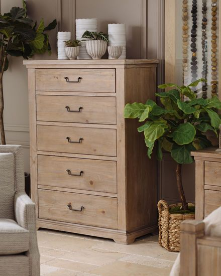 59 Casual Five Drawer Chest In Cypress In 2020 Home Furniture