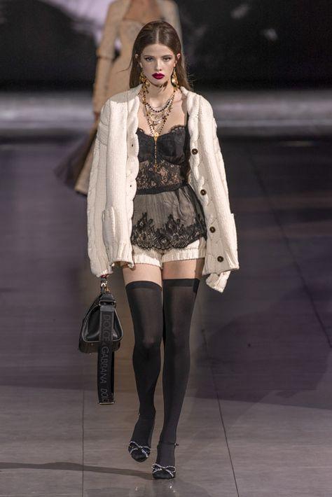 Milan Fashion Week: desfile Dolce & Gabbana Otoño/Invierno 2020-2021